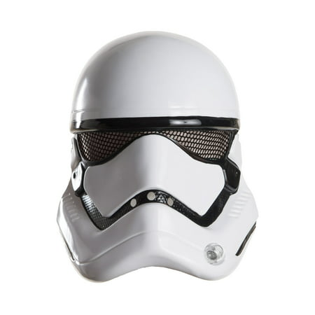 Stormtrooper 1/2 Mask Adult Halloween Accessory - Halloween Half N Half Makeup