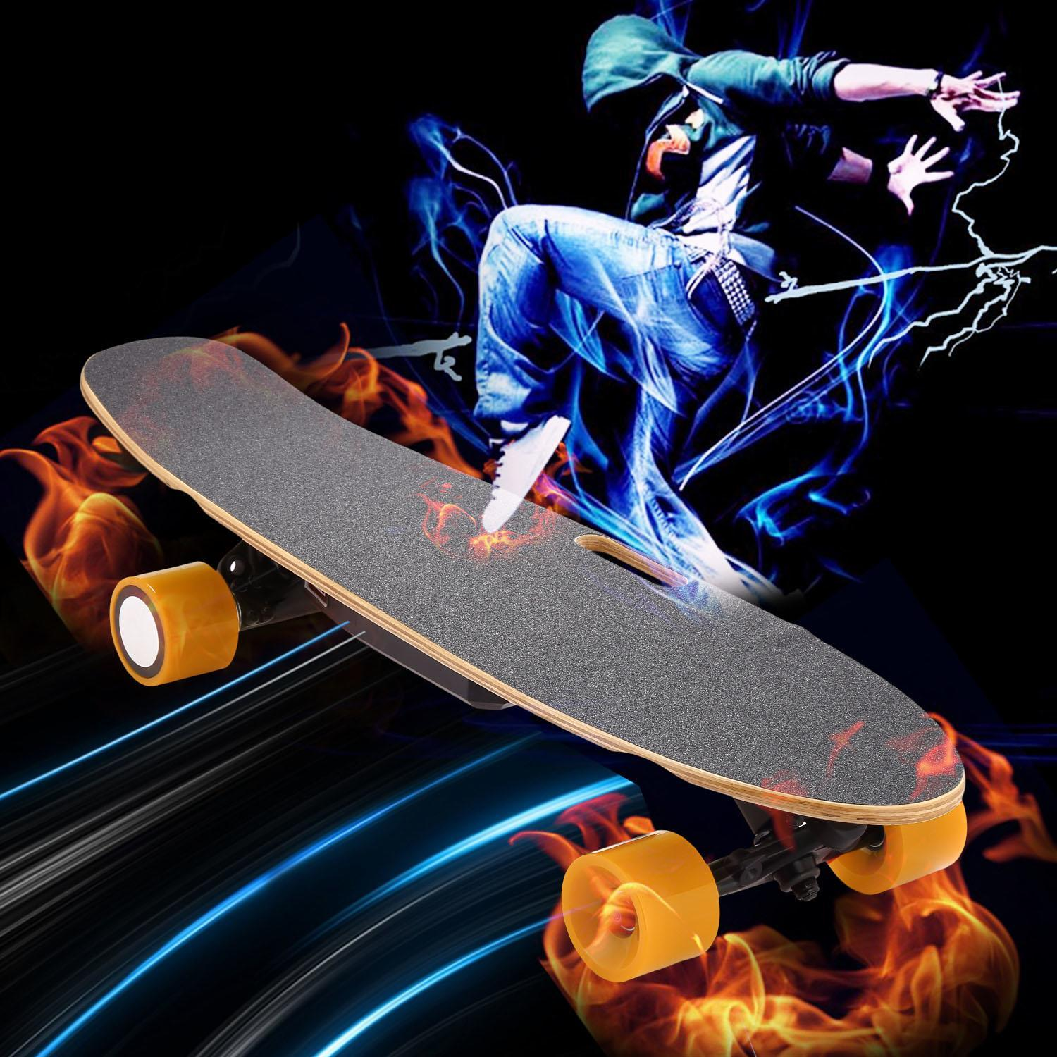 BLACK FRIDAY SALES !!!SPHP The worth buy Electric Skateboard Longboard with Wireless Bluetooth Remote Control for Boys... by