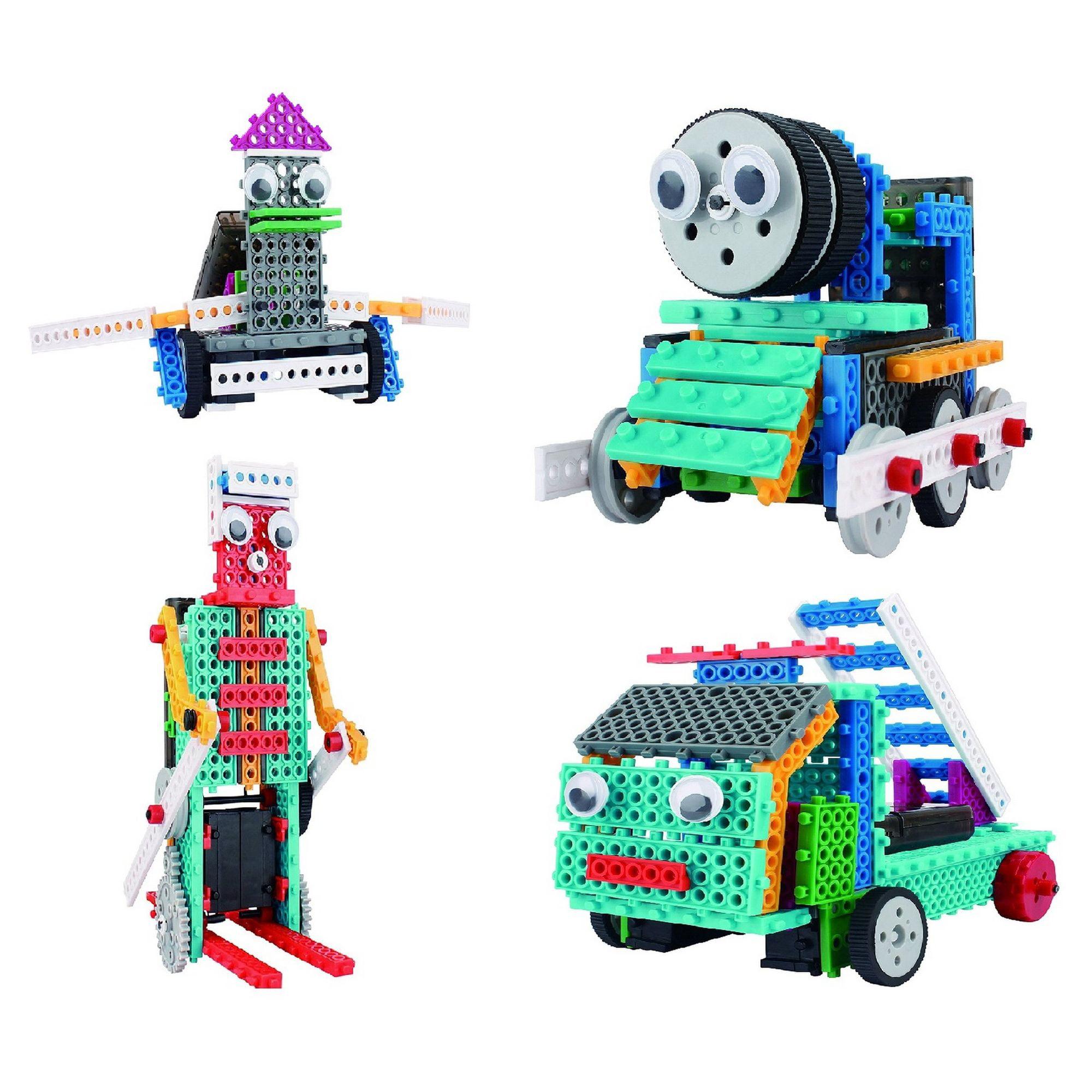 Build Your Own Remote Control Robot Toy - 370pcs -Robot Kit