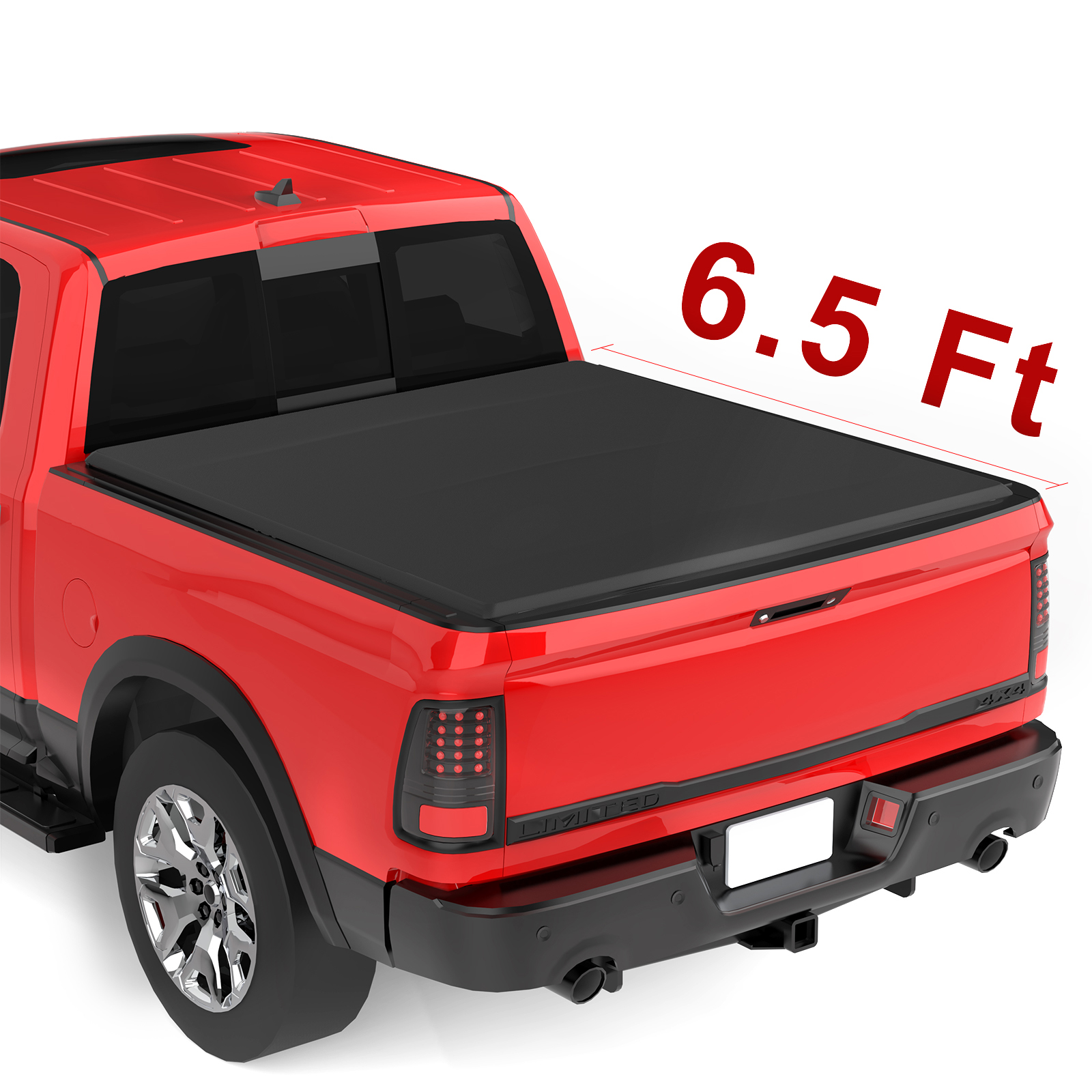 Upgraded Soft Tri Fold Truck Bed Tonneau Cover On Top Compatible For 2002 2019 Dodge Ram 1500 Only 2019 Classic 2003 2018 Dodge Ram 2500 3500 With 6 4ft Bed Fleetside Without Ram Box Walmart Com Walmart Com