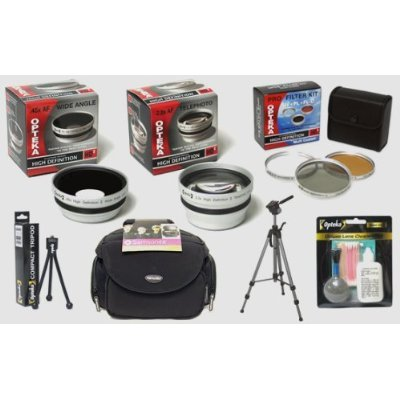 Opteka HDA Professional Digital Accessory Kit for Panasonic Lumix DMC-LX3 Digital Camera