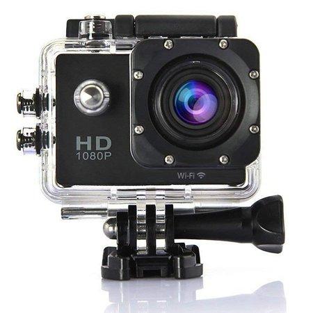 Indigi WiFi Enabled 4K Full HD Waterproof Sports Action Camera Camcorder 1.5 LCD Wide Angle Lens Mounts Includ (Camara De Video Nueva)