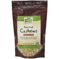 NOW Foods - Roasted Cashews Lightly Sea Salted - 10 oz.