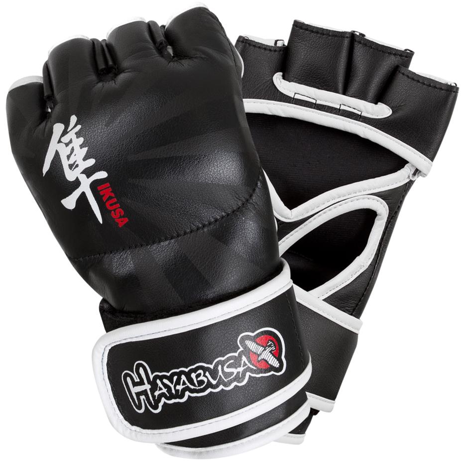 Hayabusa Ikusa 4 oz. MMA Gloves - Black