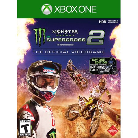Monster Energy Supercross 2 - The Official Videogame 2 Day One Edition, Milestone, Xbox One,