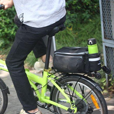 UBesGoo Bicycle Storage Handbag Pannier Saddle Rack Rear Shoulder Seat Cycling Bike Bag ()