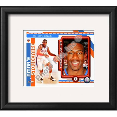 Amare Wall - Amare Stoudemire 2010-11 Studio Plus Framed Photographic Print Wall Art  - 16x14