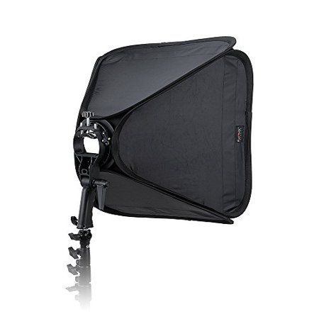 Fotodiox Pro Foldable Softbox 20x20in (50x50cm) with Flash Bracket for Speedlights and Bowen Mount Strobes
