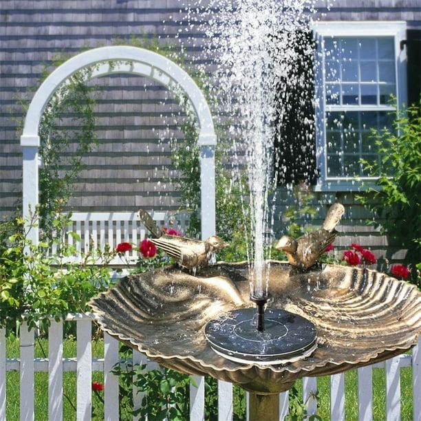 Solar Powered Fountain Water Pump Floating Garden Pond Pool Fish Tank Bird Bath