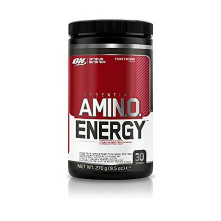 Optimum Nutrition Essential Amino Energy  Fruit Fusion   30 Servings  9 5 Oz  270 G