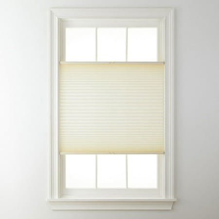 (Top Down Bottom Up Cordless Pleated Shade Cream 23x48)