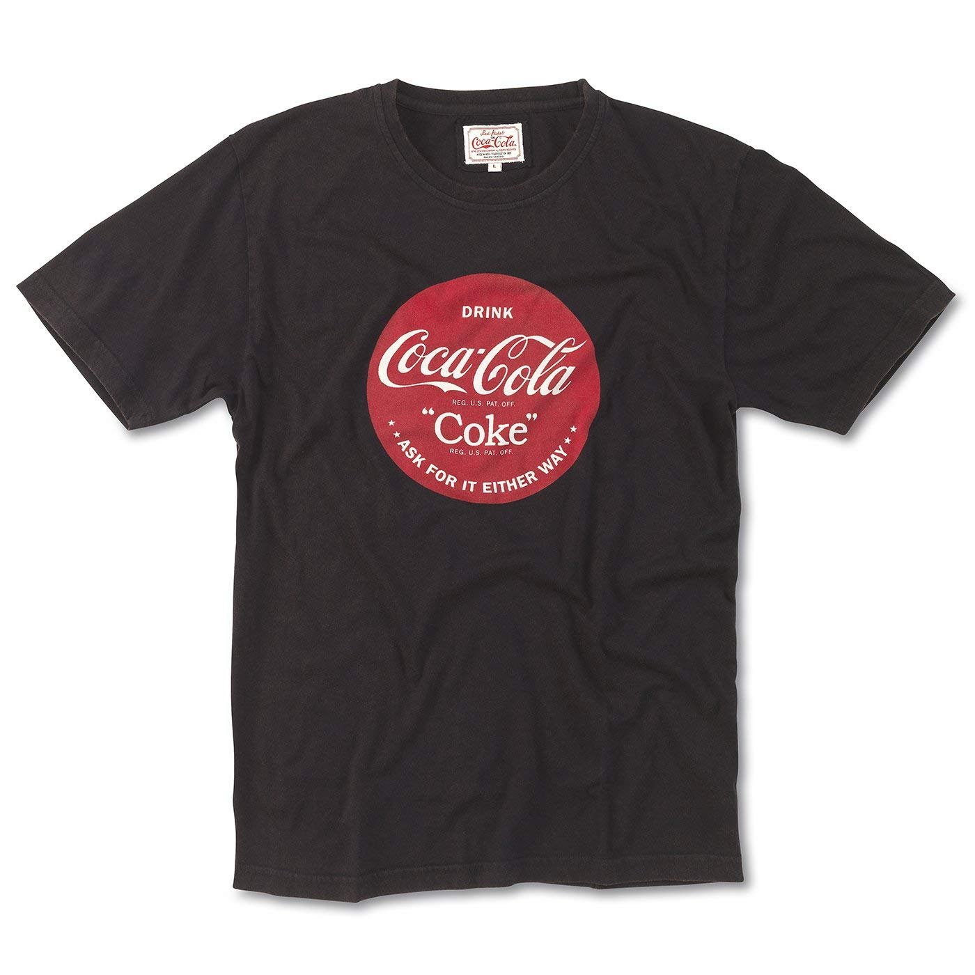 Coca-Cola Youth Small Red Long Sleeve 100/% Cotton Tee T-shirt Child Children