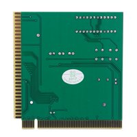 Ccdes 4-Digit Card PC Analyzer Computer Diagnostic Motherboard POST Tester for PCI & ISA, 4-Digit Card , PCI Diagnostic