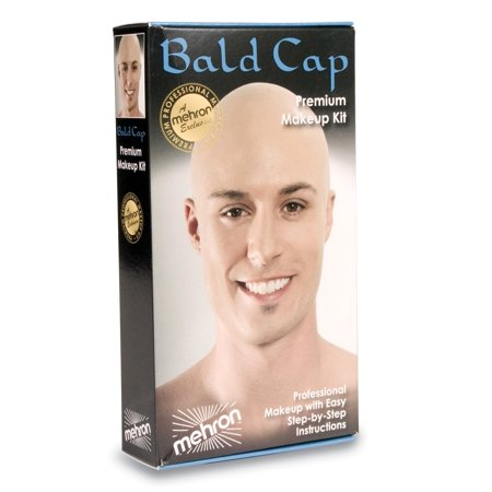 KMP-BC Mehron Bald Cap Make Up Kit