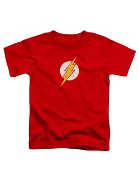 Jla - Rough Flash - Toddler Short Sleeve Shirt - 2T