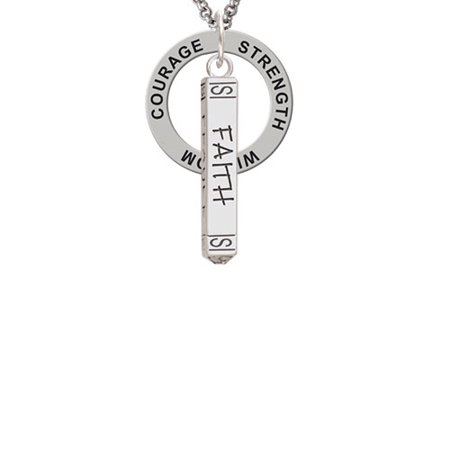 Delight Jewelry - Believe Faith Prayer Hope Bar Strength