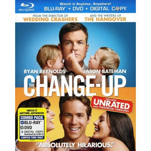 The Change-Up (Rated/Unrated) (Blu-ray + Standard DVD) (With INSTAWATCH) (Widescreen)