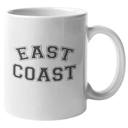 East Coast. Warm And Cool Coffee & Tea Gift Mug For Her, Him, Southern Boys, Girls, Young Professionals, College Or University Students, Varsity Basketball Players, Cheer Leaders & Travelers
