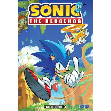 Sonic The Hedgehog Fallout Part 1 Hardcover Walmart Com