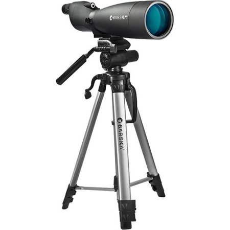 Barska 30-90 x 90mm Colorado Spotting Scope and Deluxe Tripod Combo (Best Spotting Scope For Planes)