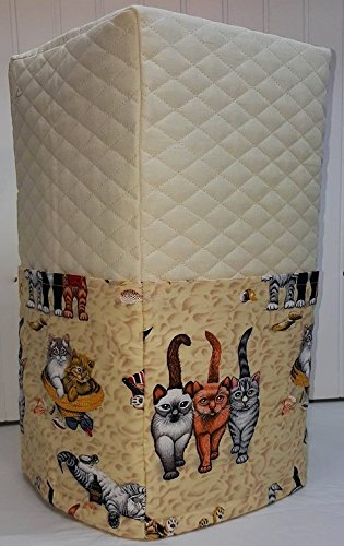 Beach Cats Bread Machine Cover (Cream) by Penny's Needful Things