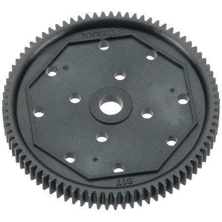 AR310021 81T 48P Spur Gear, FEATURES: Composite plastic construction Stock spur gear used in the Arrma Raider and ADX-10 Optional for the Arrma Vortex,.., By Arrma Ship from (Composite Gear)