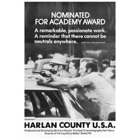 harlan county usa movie poster print 27 x 40 walmart com