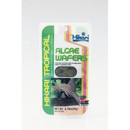 Hikari Algae Wafers Fish Food, 0.70 Oz (Hikari Micro Wafers)