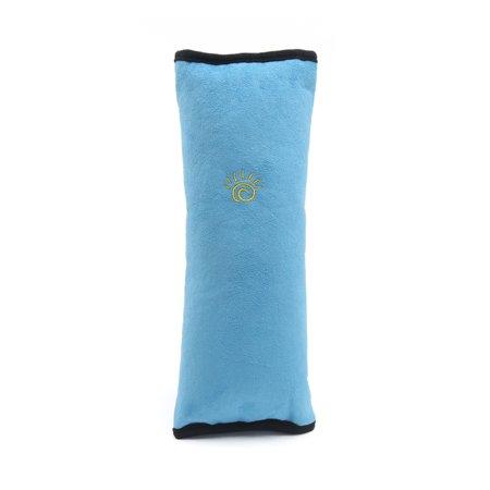 Shoulder Strap Guards - Sky Blue PP Cotton Car Seat Belt Pillow Safety Shoulder Strap Cushion Cover for Kids
