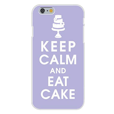 Apple iPhone 6+ (Plus) Custom Case White Plastic Snap On - Keep Calm and Eat Cake Triple Stack