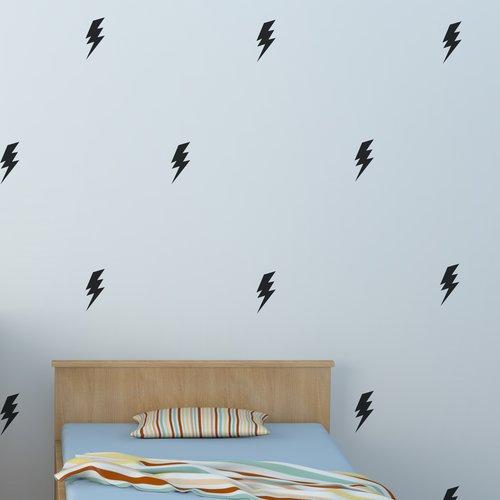 Urban Walls Lightning Bolts Wall Decal (Set of 50)