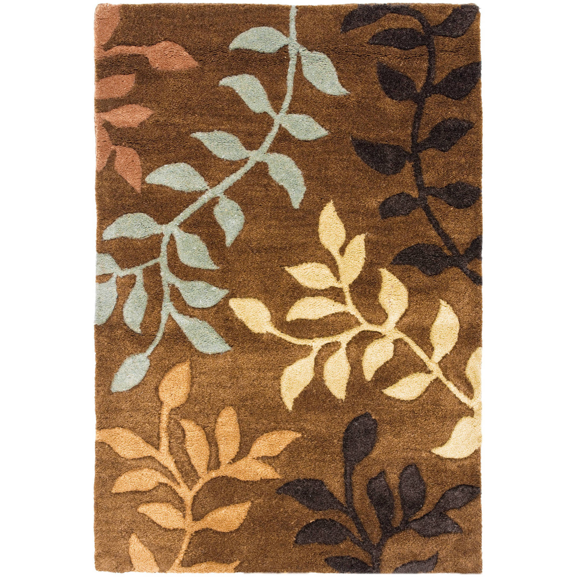 Safavieh Soho Melba Wool Rug, Brown/Multi-Color