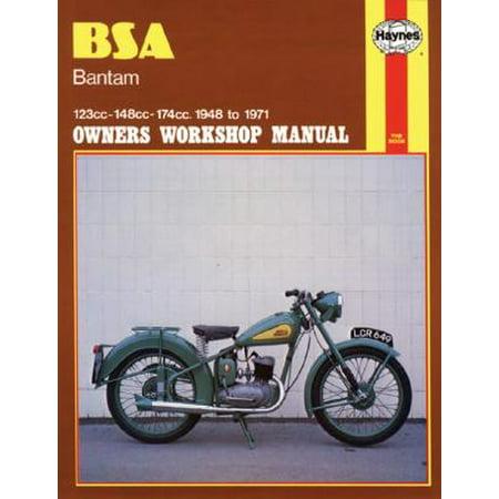 BSA Bantam Owners Workshop Manual : 123cc 148cc 174cc 1948-1971