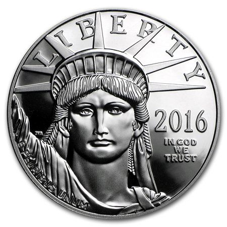 2016 W 1 Oz Proof Platinum American Eagle  W Box   Coa