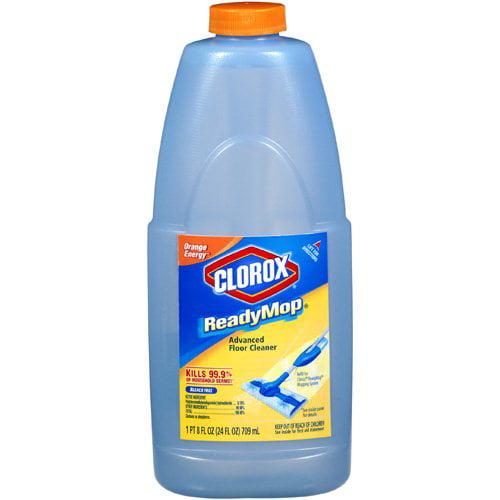 Clorox Orange Energy Readymop Advanced Floor Cleaner Refill, 24 Fl Oz