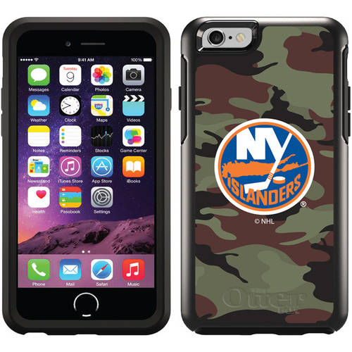 New York Islanders Traditional Camo Design on OtterBox Symmetry Series Case for Apple iPhone 6