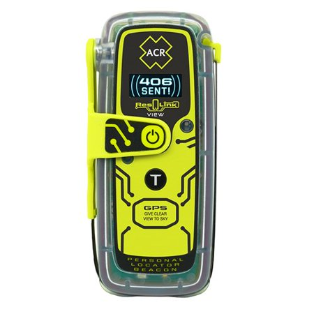 ACR ResQLink View 425 Personal Locator Beacon with Digital Display  2922 ResQLink View 425 Personal Locator Beacon with Digital