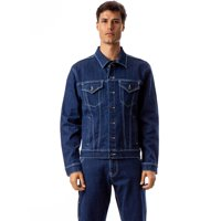 Jordache Vintage Men's Cameron Oversized Trucker Jacket