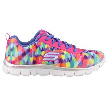 edaa08952172 Skechers - Skechers Girls  Skech Appeal Rainbow Runner Trainer