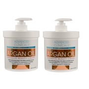 Advanced Clinicals Argan Oil Intensive Beauty Cream 16 oz 454 g
