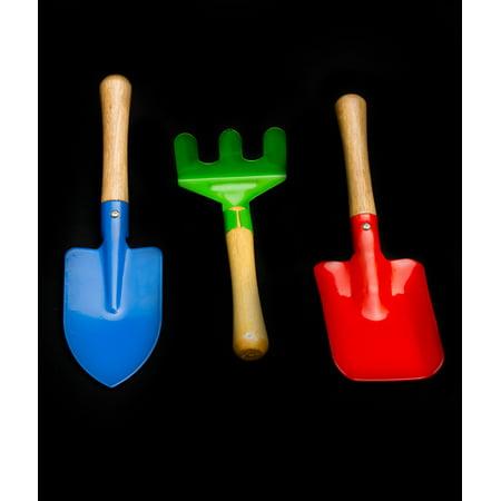 Fun Central AY972 3-Piece Garden Tool Set