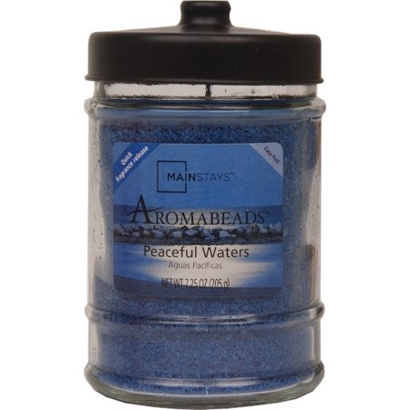 Mainstays 7.25-Ounce Aromabeads Candle, Peaceful Waters