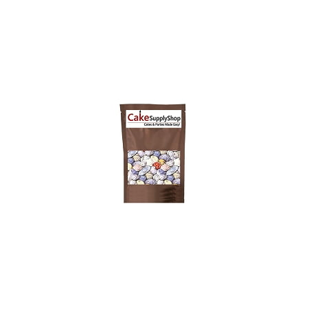 Candy Letters For Cakes (Edible Beach Sea Side Rocks For Cake Decoration and Candy Buffets (8oz Chocolate)