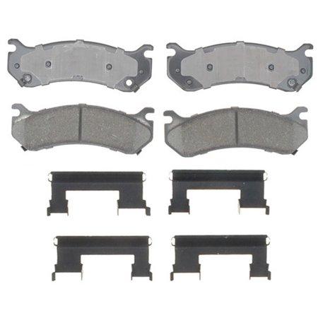 AC Delco 17D785CH Brake Pad Set, Ceramic OE Replacement