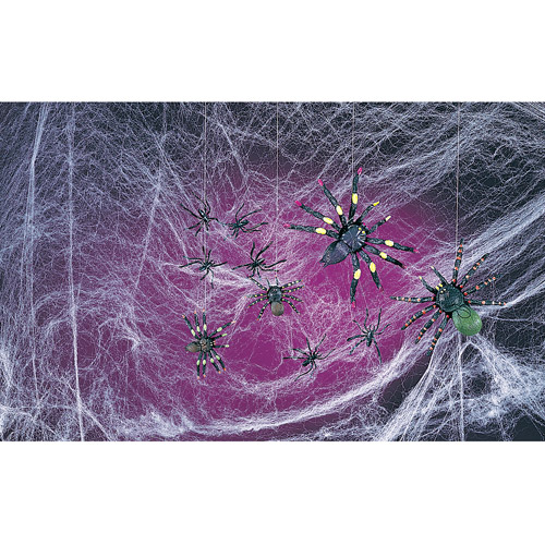 Spooky Spiders and Webs Halloween Decoration