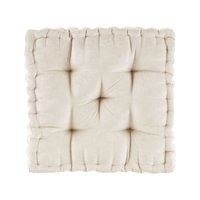 Home Essence Apartment Diah Poly Chenille Square Floor Pillow Cushion