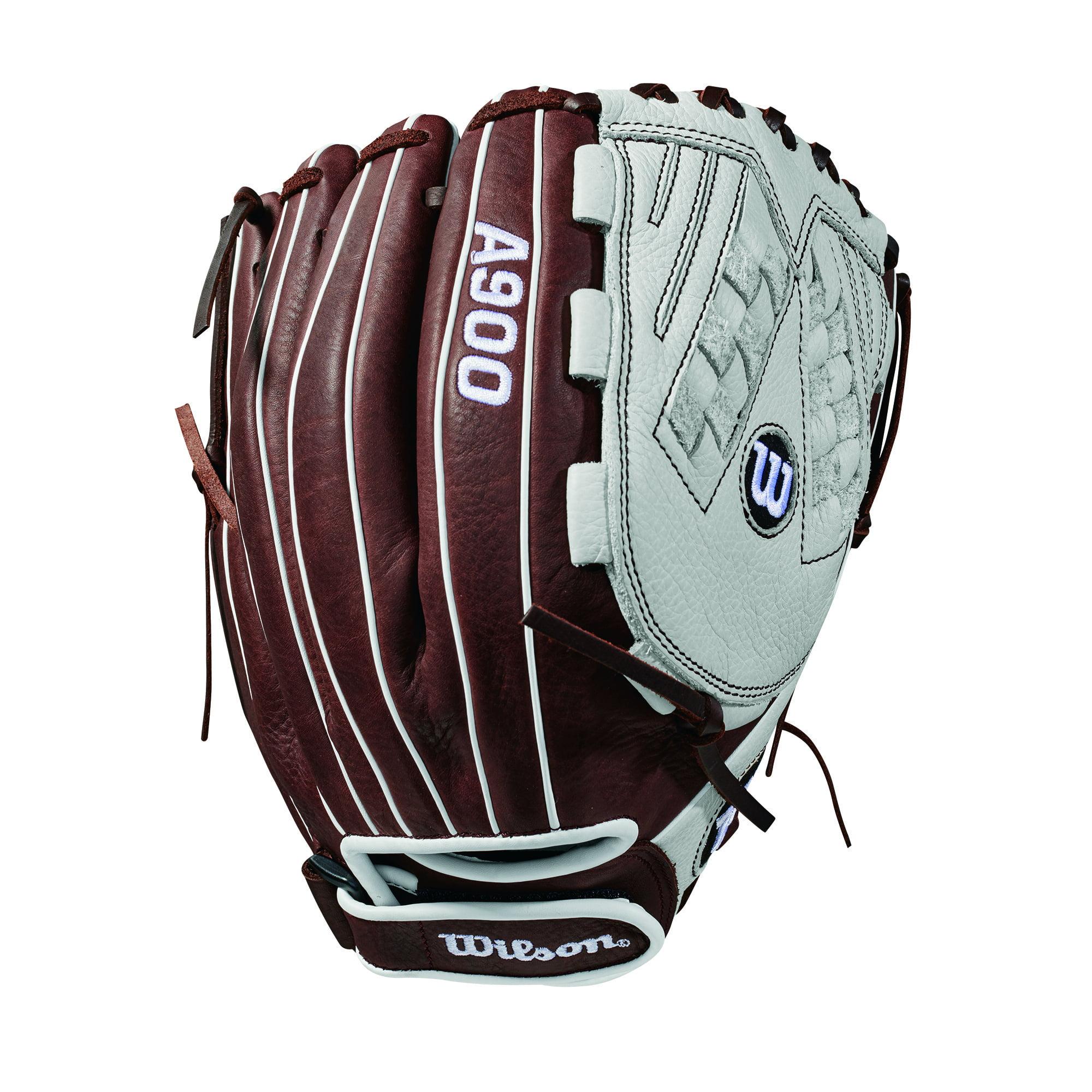 "Wilson Aura 12.5"" Fastpitch Softball Glove, Left Hand Throw"