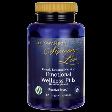 60 Caps Supplement Pills - Lee Swanson Signature Line Emotional Wellness Pills 120 Veg Caps