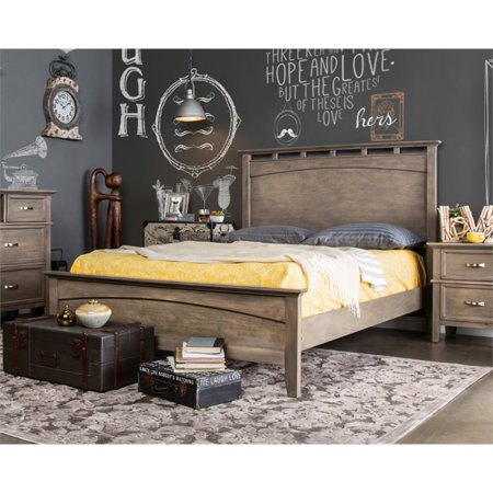Furniture of America Ackerson King Panel Bed in Wood ()