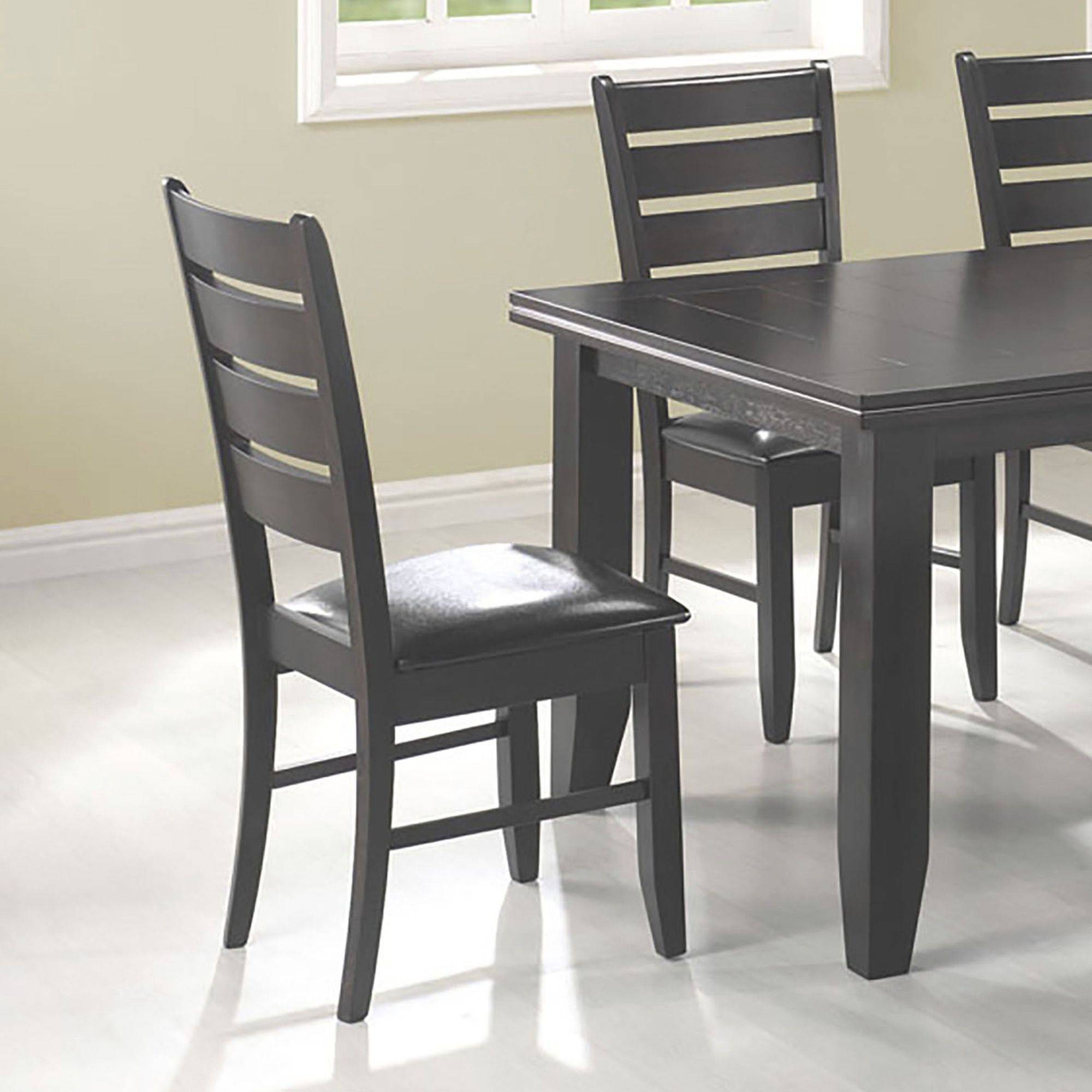 Imagio Home Roanoke X Back Dining Side Chairs Set of 2 Rubbed